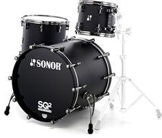 Sonor SQ2 Set Maple Rock -Dark Satin
