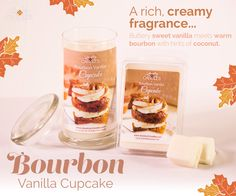 Bourbon Vanilla Cupcake