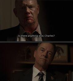 Aaron Pierce and President Charles Logan; Season 5