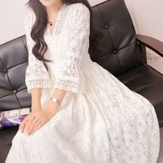 Cheap hippie dress, Buy Quality elegant dresses women directly from China dress women Suppliers: Autumn Casual Vintage Long Elegant Dress Women Maxi Ankle Length Party Festival Prom Gown Female Vestidos Lace Hippie Dress Hippie Dresses, Boho Dress, Lace Dress, Lace Maxi, Dress Beach, Dress Summer, Dress Casual, Stylish Dresses, Elegant Dresses