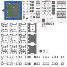 Minecraft Medium Sized Keep by ColtCoyote.deviantart.com on @DeviantArt