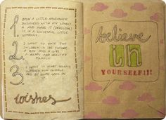 Love this idea for a journal page