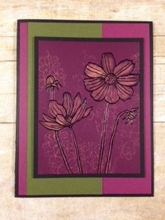 This card is made with the 2014 - 2016 In Colors that are retiring soon and the Helping Me Grow stamp set by Stampin' Up! It is one of the cards included in my Cards In a Gift Box Class which is being offered as a Live Class and as a Class-To-Go Class. I'm also offering three FREE card kits. For details about this offer click here: https://youtu.be/qat0EHabmCo