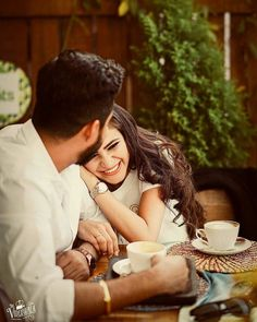 ☕x✌ Romantic Pictures Of Couples, Indian Wedding Couple Photography, Love Couple Images, Wedding Couple Poses Photography, Wedding Couple Photos, Couple Photoshoot Poses, Couples In Love, Wedding Couples, Romantic Images