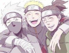 Naruto Uzumaki, Anime Naruto, Naruto Comic, Kakashi Hatake, Naruto And Sasuke, Art Naruto, Naruto Boys, Naruto Team 7, Naruto Family