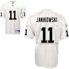 http://www.xjersey.com/raiders-11-janikowski-white-jerseys.html RAIDERS 11 JANIKOWSKI WHITE JERSEYS Only $34.00 , Free Shipping!