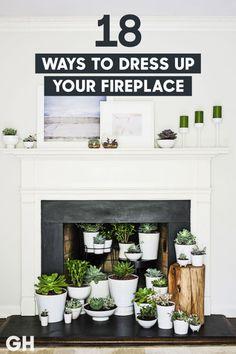 18 Fireplace Decorating Ideas - Best Fireplace Design Inspiration