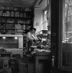 Chinatown Workers ca 1953 by Frank Larson
