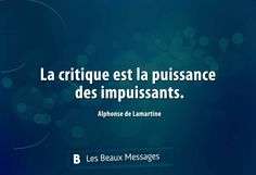 Alphonse de Lamartine French Words, French Quotes, Favorite Words, Favorite Quotes, Cute Quotes, Great Quotes, Great Sentences, Dream It Do It, Quote Citation