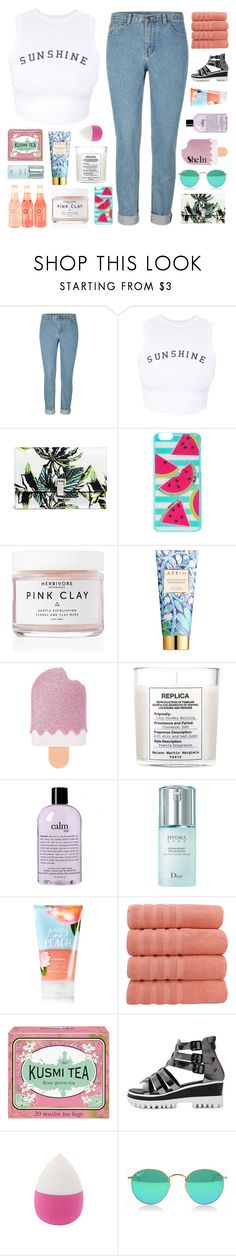 """WE'RE IN THIS FOREVER"" by elainesabine ❤ liked on Polyvore featuring Wildfox, Proenza Schouler, Herbivore, AERIN, Maison Margiela, philosophy, Christian Dior and Kusmi Tea"