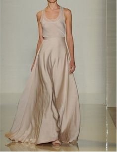 Barely there ethereal gown