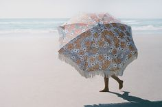 Animal Kingdom Beach UmbrellaA unique combination of floral and leopard makes for an exciting take on the classic. This style loves the sun and long days at the beach. Create your place in the sun with a wild side of style.A stunning vintage. Under My Umbrella, Beach Umbrella, Earthy Home Decor, Umbrella Photography, Miss Moss, Summer Feeling, Beach Day, Vintage Flowers, Life Is Beautiful