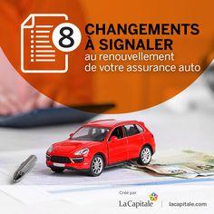 8 changements à signaler au renouvellement de votre assurance auto   La Capitale