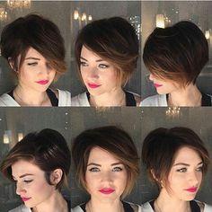 #shorthair #curtodivo #pixie #pixiehair #cabelocurto #haircolors #icehair #transformationtuesday #longbob #shorthairbeautiful #pixiecut #cabelocurtobr #chanel #divasdcc