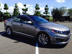 #Kia Optima SXL Turbo 2015 - one of our favorite new cars for 2015!