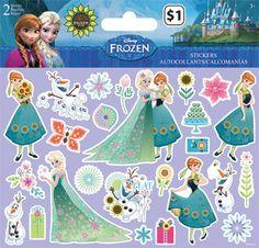 Frozen Fever Sticker (2 sheets)