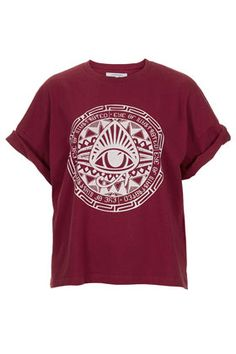 **Eye Boyfriend T-Shirt by Illustrated People - New In This Week  - New In Topshop