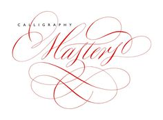 calligraphy masters by rachel yallop