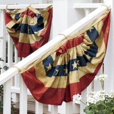 American Flag Bunting from Through the Country Door®
