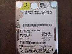 """Western Digital WD1600BEVS-00RST0 DCM:HAYTJAB 160gb 2.5"""" Sata Hard drive #WesternDigital"""