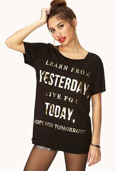 Live For Today Tee | FOREVER21 - 2031558270