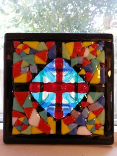 A way to use scrap glass