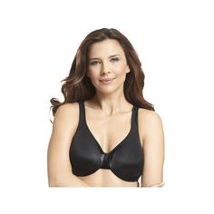 d95b326cd58 Plus Size Olga Bra  Signature Support Satin Full-Figure Full-Coverage Bra  35002