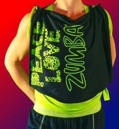 cropped tank top Peace Love Zumba