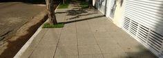 calçamento com piso permeável drenante Drenaqua da Drenaltec