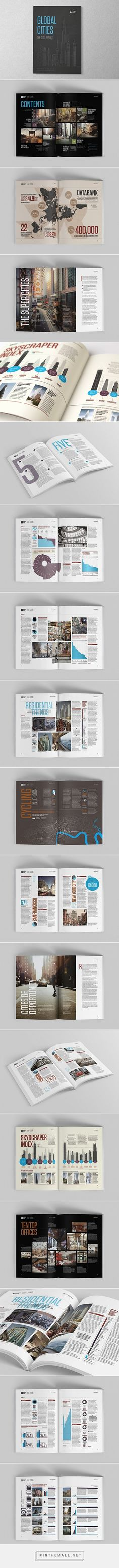 Editorial Design Inspiration: Global Cities Report