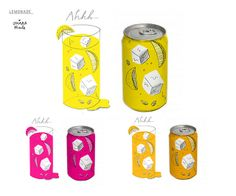 LEMONADE CAN DESIGN by Ohara.Hale, via Flickr