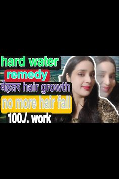 Hard Water Remedy For Hair Growth,no More Hair Fall ,how To Avoid Hard Water ,conved To Soft Water . Hard Water, Fall Hair, Hair Loss, Hair Growth, Remedies, Hair Falling Out, Hair Growing, Losing Hair, Home Remedies