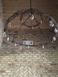 Items similar to Barbed wire chandelier light fixture on Etsy Wire Chandelier, Rustic Chandelier, Chandeliers, Barbed Wire Decor, Barb Wire Crafts, Wood Shop Projects, Welding Projects, Steel Art, Wire Hangers