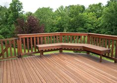 Save money on repairs by winterizing your deck.