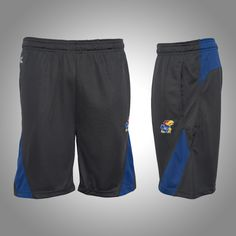 Train your body in these #KansasUniversity Adrenaline Training Shorts l Gameday Super Store