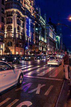 Calle de Gran Vía - Madrid