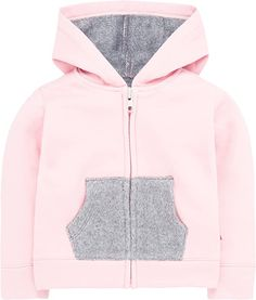 Amazon.com: Levi's Baby Girls' Knit Hoodie with Plush Lining, Blush, 12M: Clothing Baby Girl Jackets, Fleece Lined Hoodie, Cold Front, Levis Jacket, Sporty Look, Cute Baby Clothes, S Pic, Cute Babies, Hooded Jacket
