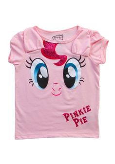 For Kayla - Toddler My Little Pony Pink Pie Costume T-Shirt