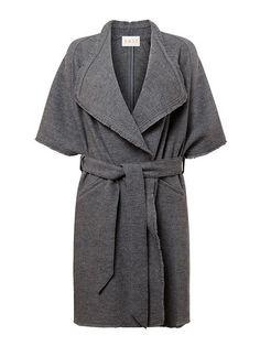 Waterfall Boiled Wool Coat
