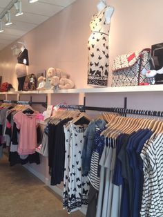 Re-merchandising at Bellies by Flourish Design & Merchandising. visual merchandising, display, maternity