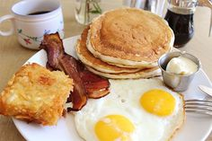 Flapjack Breakfast, Poppy + Rose A simple, old-school American diner — except this one uses the highest-quality ingredients, with great success. Poppy + Rose, 765 Wall Street (at East 8th Street); 213-995-7799.  #refinery29 http://www.refinery29.com/best-pancakes-los-angeles#slide-9