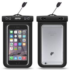 The 6 Best iPhone Cases: Best Waterproof Case: JOTO CellPhone Dry Bag