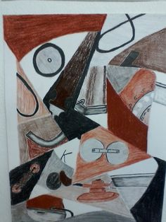 cubism Geometric Form, Cubism, Sculpture, Abstract, Drawings, Painting, Everything, Art, Geometric Fashion