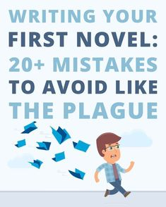 Writing your first novel? Writing your first novel? Mistakes to Avoid, as Told by the Industry's Best Experts! Creative Writing Tips, Book Writing Tips, Writing Words, Fiction Writing, Writing Resources, Writing Prompts, Writing A Novel, Writing Programs, Book Writer
