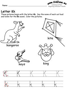 math worksheet : 1000 images about k is 4 2015 on pinterest  letter k diy  : Letter K Worksheets For Kindergarten