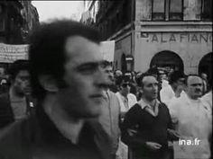 1973. Manifestation en soutien aux Lip à Besancon. Apolline et Marie