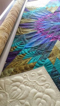 Seamingly Slawson Quilts: Star sapphire