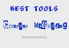 Online Tools that are Super Hit among… http://www.ads2020.marketing/2016/04/content-marketers-best-tools-software-online-web-programs.html