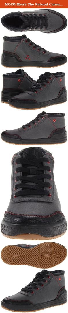 MOZO Men's The Natural Canvas Slip Resistant Comfort Lace-Up Sneaker. Fashioned in water-resistant waxed canvas and leather, The Natural Canvas offers the style features culinary professionals crave along with the functional elements they need to get the job done right. The suede leather toe cap and heel with red stitching provide added durability with a dose of urban style. A butcher apron-inspired stripe forms the inner lining of the shoe, giving props to the kitchen crew. Equipped with…
