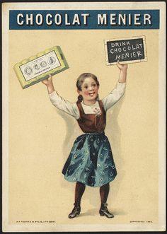 Chocolat Menier - drink Chocolat Menier [front]   por Boston Public Library